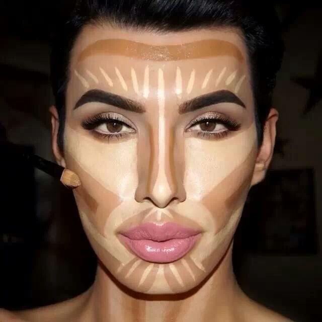 the gallery for gt contour makeup before and after kim